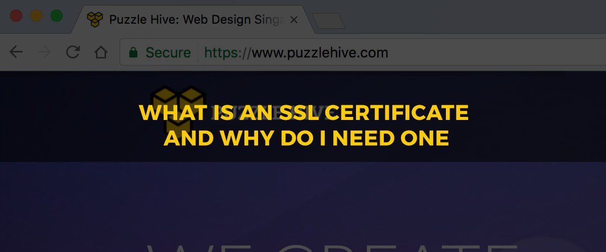 What Is An Ssl Certificate And Why Do I Need One Puzzle Hive
