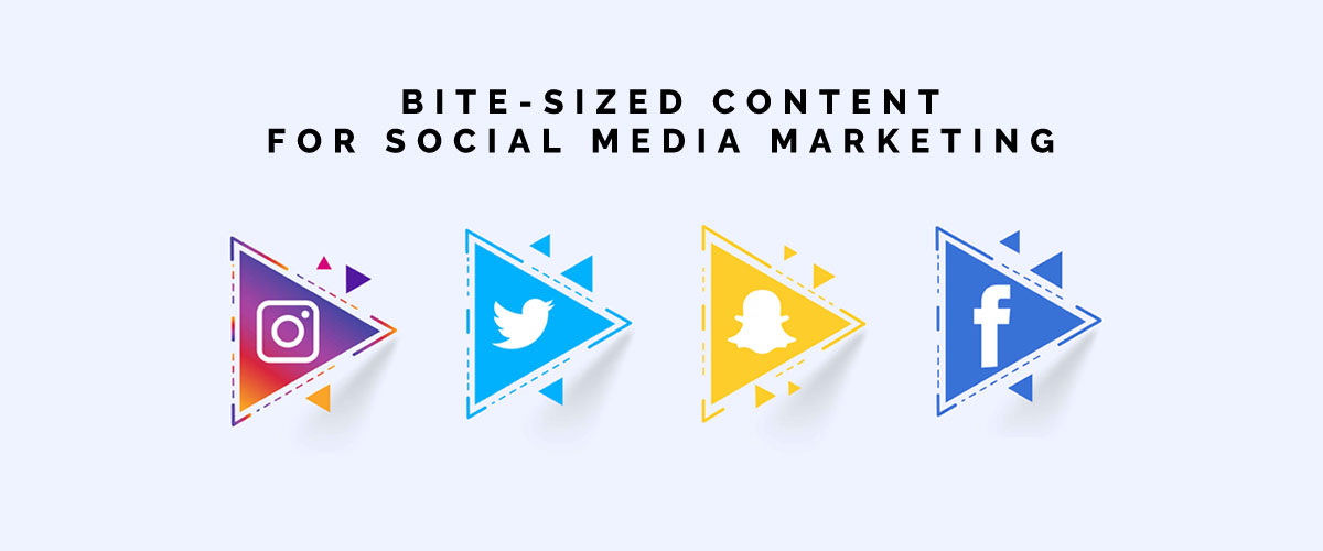Bite-sized Content For Social Media Marketing